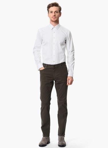d8e5f9ed3a6d5 NetWork Uzun Kollu Slim Fit Klasik Gömlek Beyaz ...